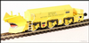 "Hattons H4-BH-004 Beilhack snow plough (ex Class 40) ZZA ADB965579 in BR yellow ""Stratford Shark"""